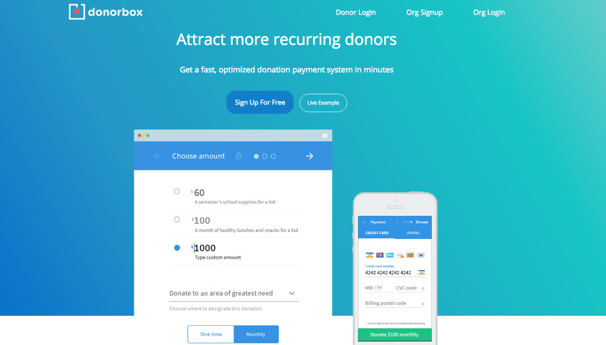 Online Donations Made Easy for Churches and Non-Profits